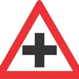 CROSSROAD ROAD SIGN W101 300x300 - CROSSROAD ROAD SIGN (W101)