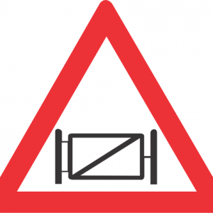 GATE ROAD SIGN W314 300x300 - GATE ROAD SIGN (W314)