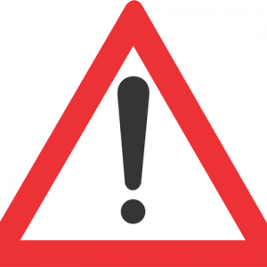 GENERAL WARNING ROAD SIGN W339 300x300 - GENERAL WARNING ROAD SIGN (W339)