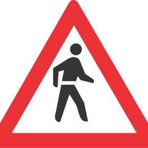PEDESTRIANS ROAD SIGN W307 300x300 - PEDESTRIANS ROAD SIGN (W307)