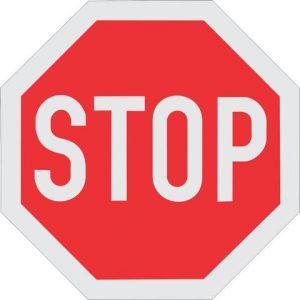 STOP SIGN ROAD SIGN R1 300x300 - STOP SIGN ROAD SIGN (R1) 1200mm